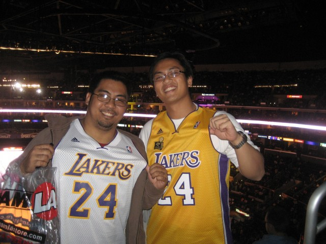 First Laker Game